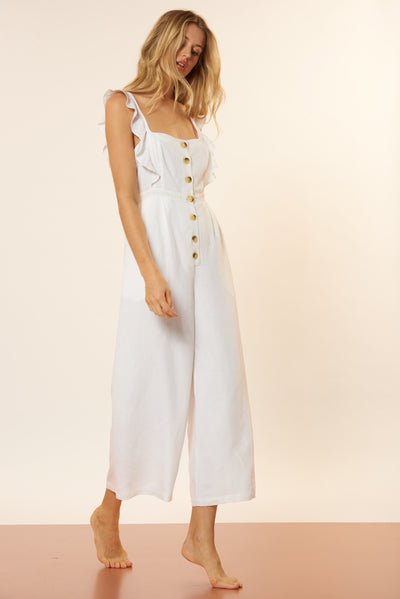 Allison Jumpsuit - Ivory
