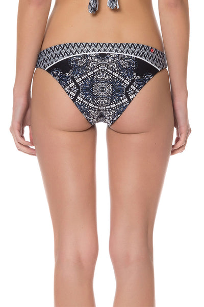 Bellissima Hipster Bikini Bottom (Reversible) - Red Carter