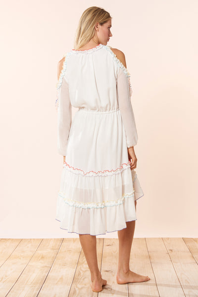 Lucy Dress - Ivory - Red Carter