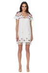 Marina Dress - Ivory Multi