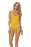 Indian Summer Tank One Piece - Mustard