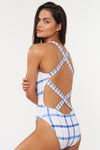 Alice 1 PC - White/Blue - Red Carter