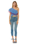 Bijou Top - Chambray Multi