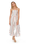 Everly Jumpsuit - Ivory Multi