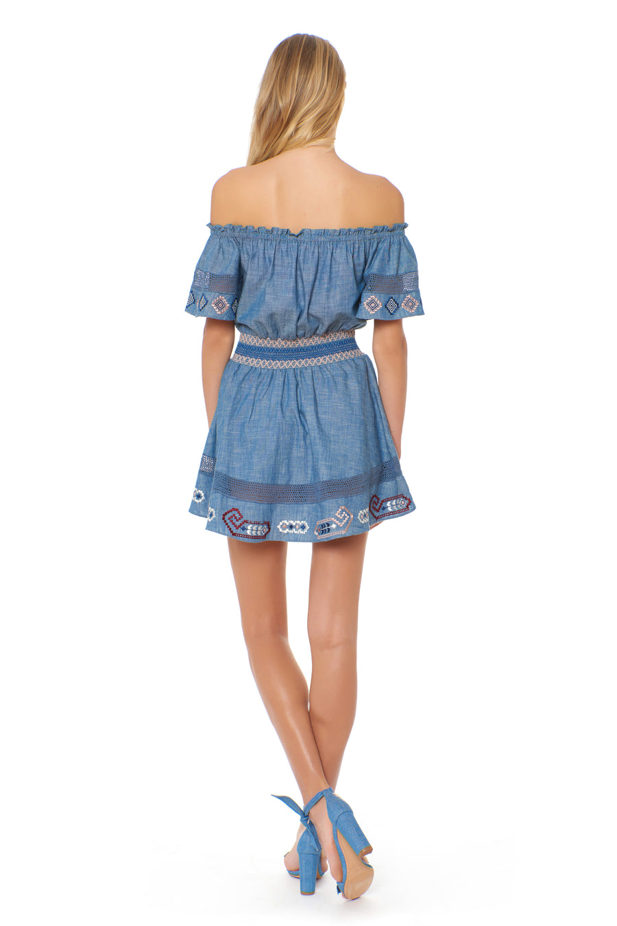 Melissa Dress - Chambray