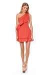 Nailah Dress - Vermillion