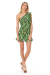 Miyah Dress - Havana Leaf