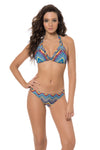 Beach Babe Hipster Bottom  - Azure Multi