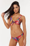Ally Top - Red Multi - Red Carter