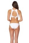 Splice & Dice Side Tie Lowrise Bottom - White