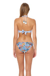 Tahitian Tide Reversible Hipster Bottom - Ocean