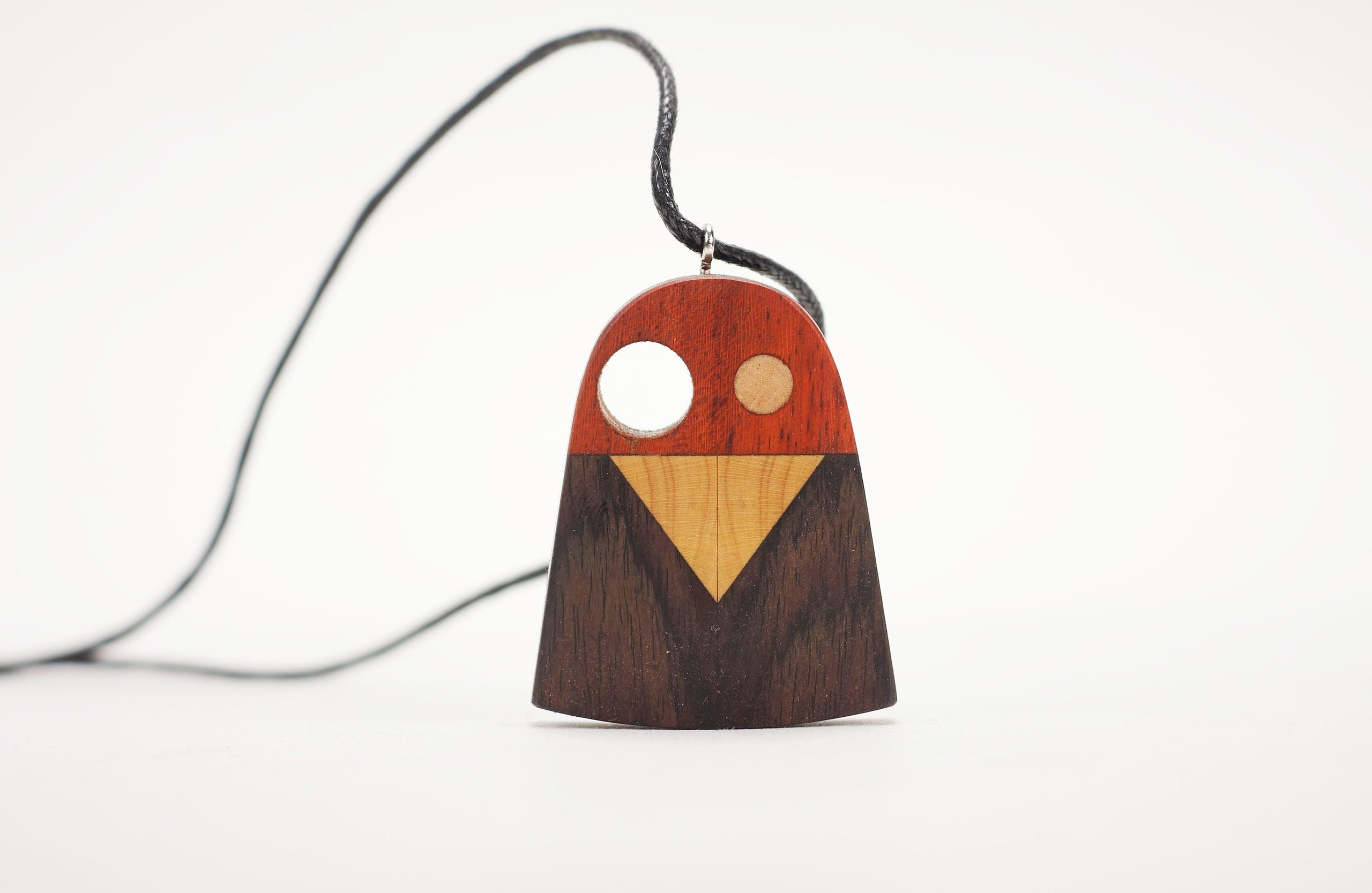 Handmade Cartoon Bird Necklace