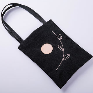 Handmade The View Series Canvas Handbag - YuanQue