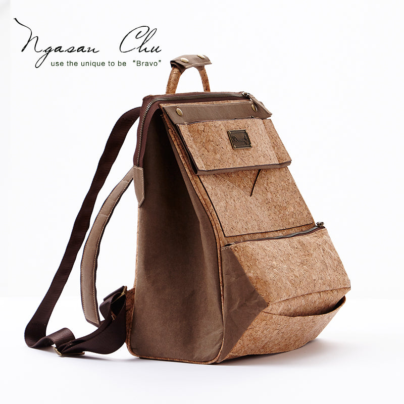 Large Handmade Cork Backpack