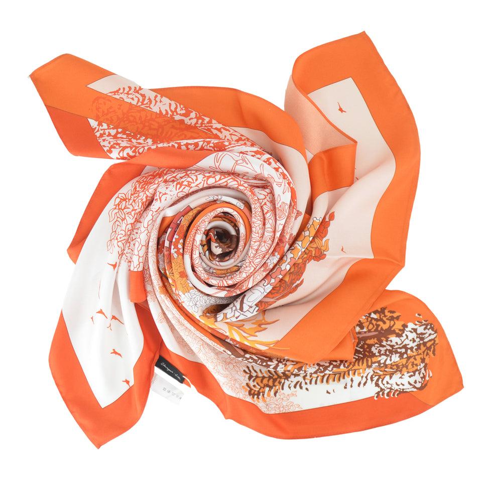14mm Satin Scarf - Powerful Flare