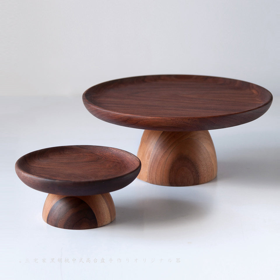 Handmade Black Walnut Haigh Plate