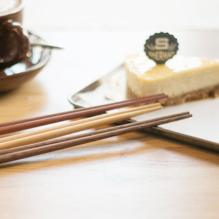 Handmade Wooden Chopsticks (3 pairs)