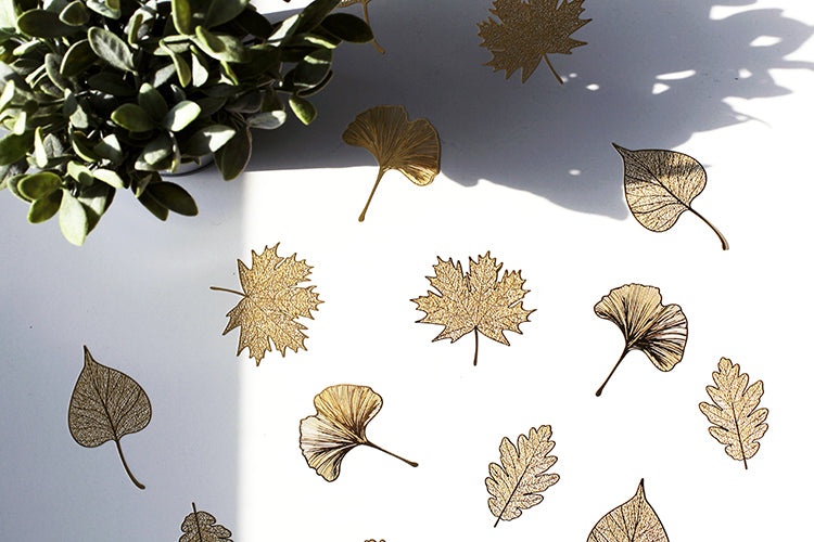 Four Season Leaves Bookmark