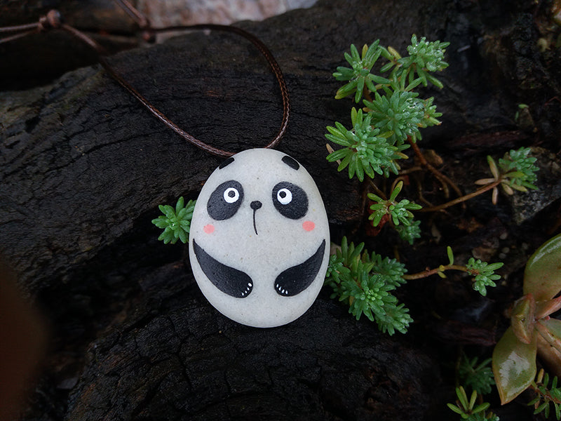 Handmade Panda Necklace