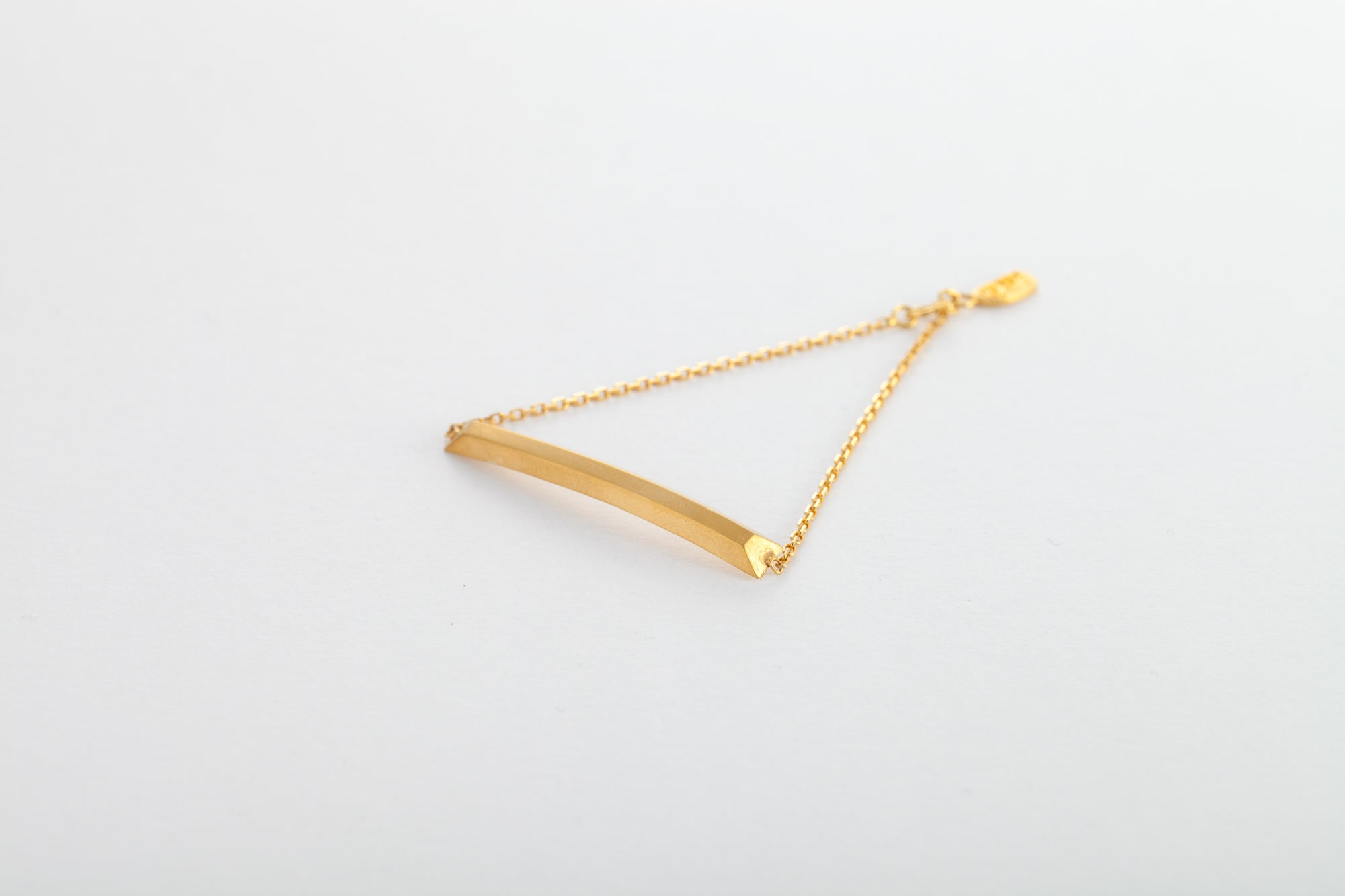 24k Gold Bar Trace Chain Bracelet