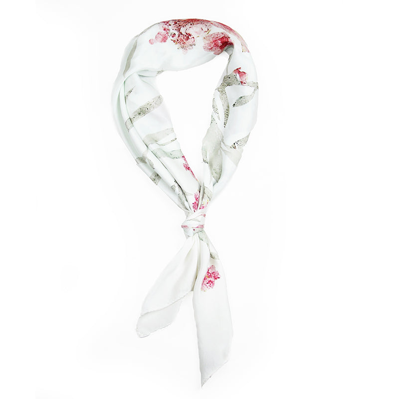 12mm Satin Scarf - Floral Patterns