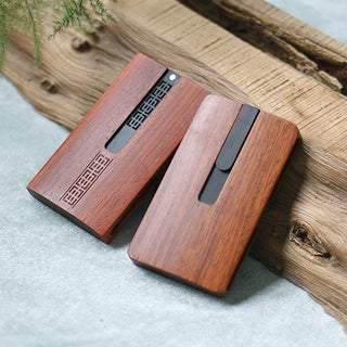 Handmade Clothespin Business Card Case
