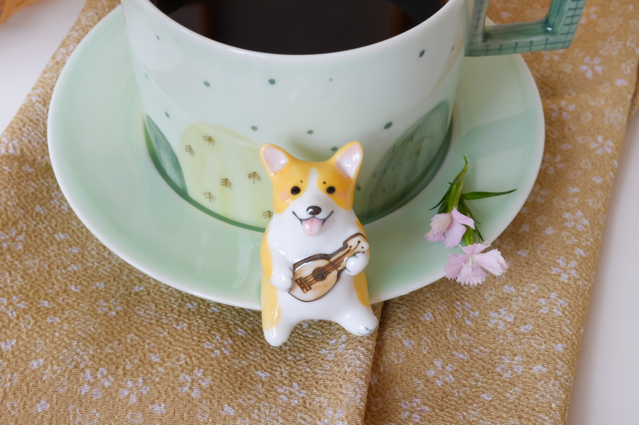 handmade corgi coffee cup sourcebeacon