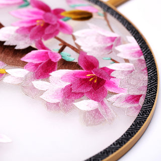 Hand-Embroidered Fan