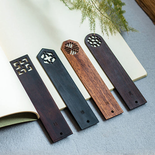 Handmade Redwood Bookmark (4 pieces)