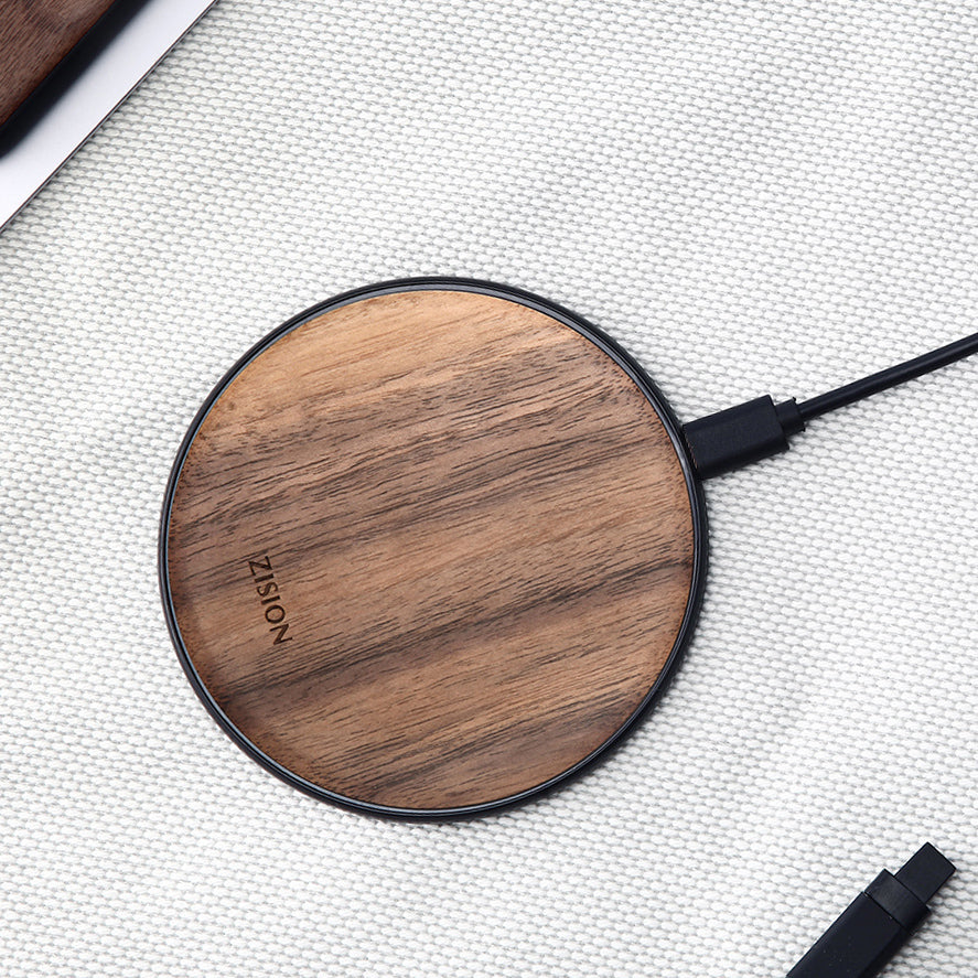 Handmade Black Walnut Wireless Charger