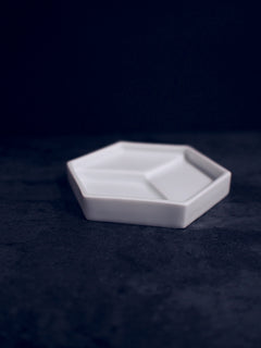 Hexagon or Cube Plate