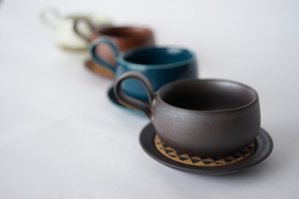 Handmade Earth Colored Mugs