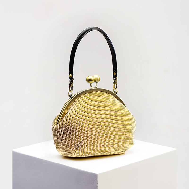 Handmade Gold Bag