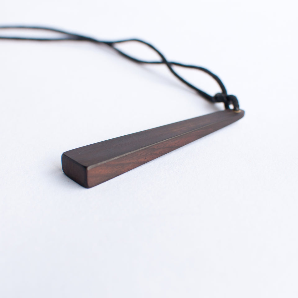 Handmade Rectangular Pyramid Necklace