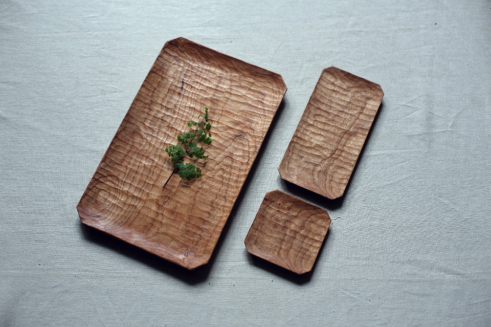 Cherry Wood Serving Platter