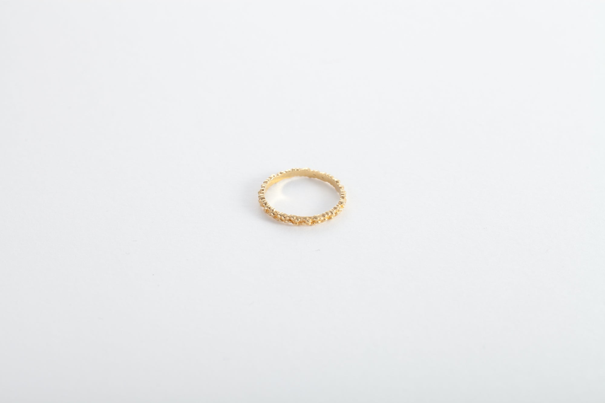 18k Gold Grains of Life Ring