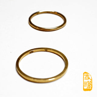 18k Gold Simple Ring