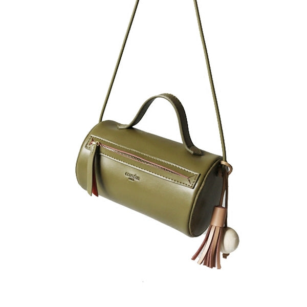 Olive Barrel Purse