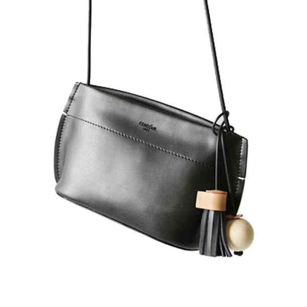 Leather Baguette Purse