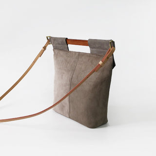 Gray Satchel
