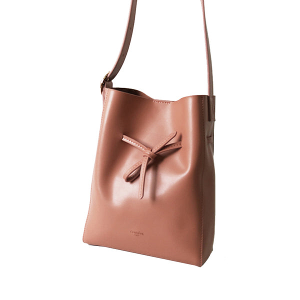 Russet Leather Shopper