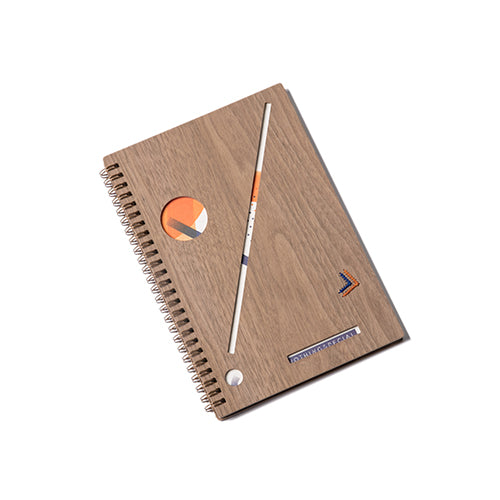 Handmade Wooden Spice Notebook(Walnut)