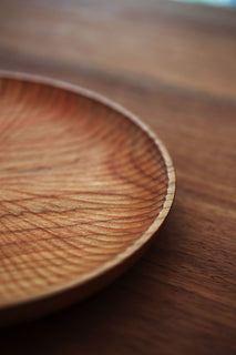 American Cherry One-Piece Wood Plate