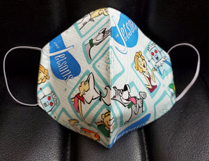 The Jetsons Print face mask -