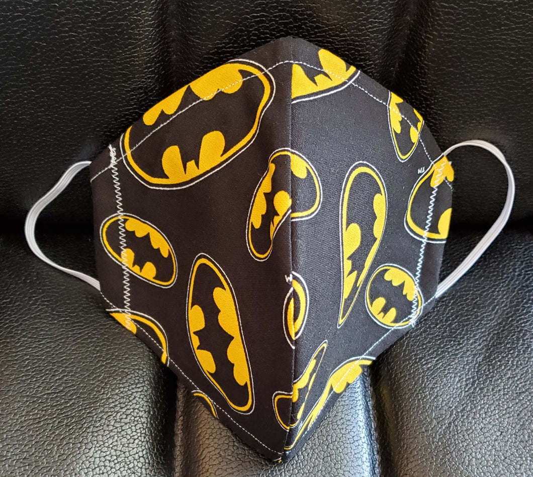 Batman Fabric Print Face Mask