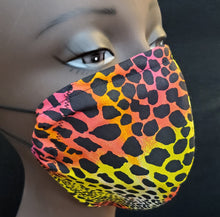 Load image into Gallery viewer, Leopard Print Face Mask - Germ Freak by DenaTyson