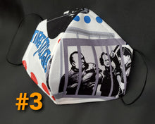Load image into Gallery viewer, The Three Stooges Fabric Print Mask