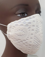 Load image into Gallery viewer, Elegant Crochet Knit Face Mask