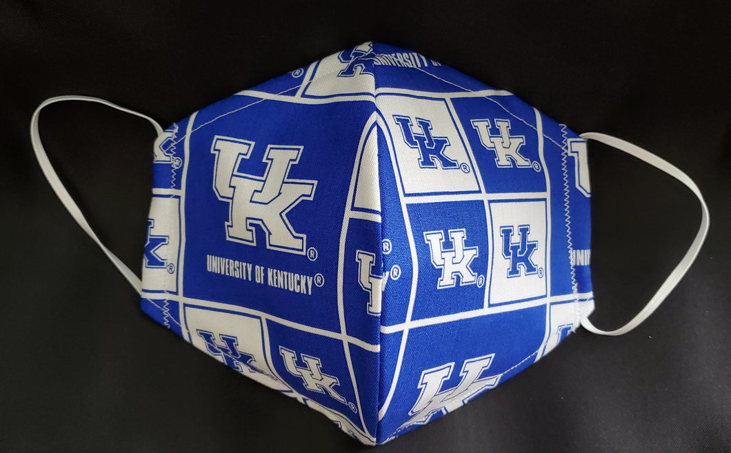 University of Kentucky Print Fabric face mask