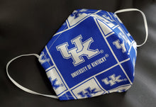 Load image into Gallery viewer, University of Kentucky Print Fabric face mask